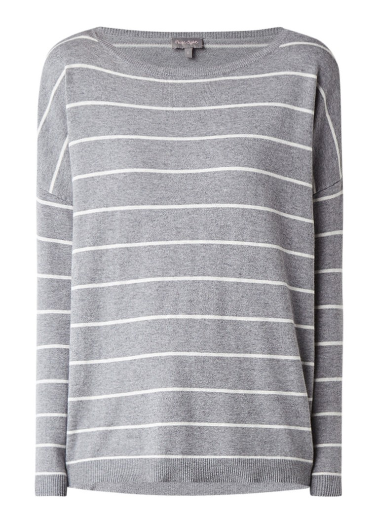 Phase Eight Sinclaire loose fit pullover met streepdessin