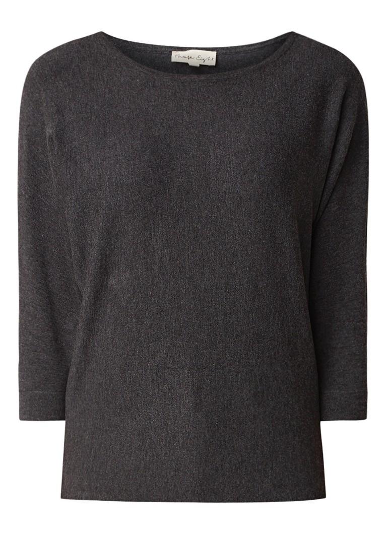 Phase Eight Cristine fijngebreide pullover met vleermuismouw