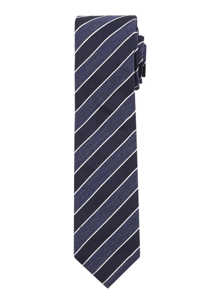 Image of HUGO BOSS Stropdas in zijdeblend met streepdessin