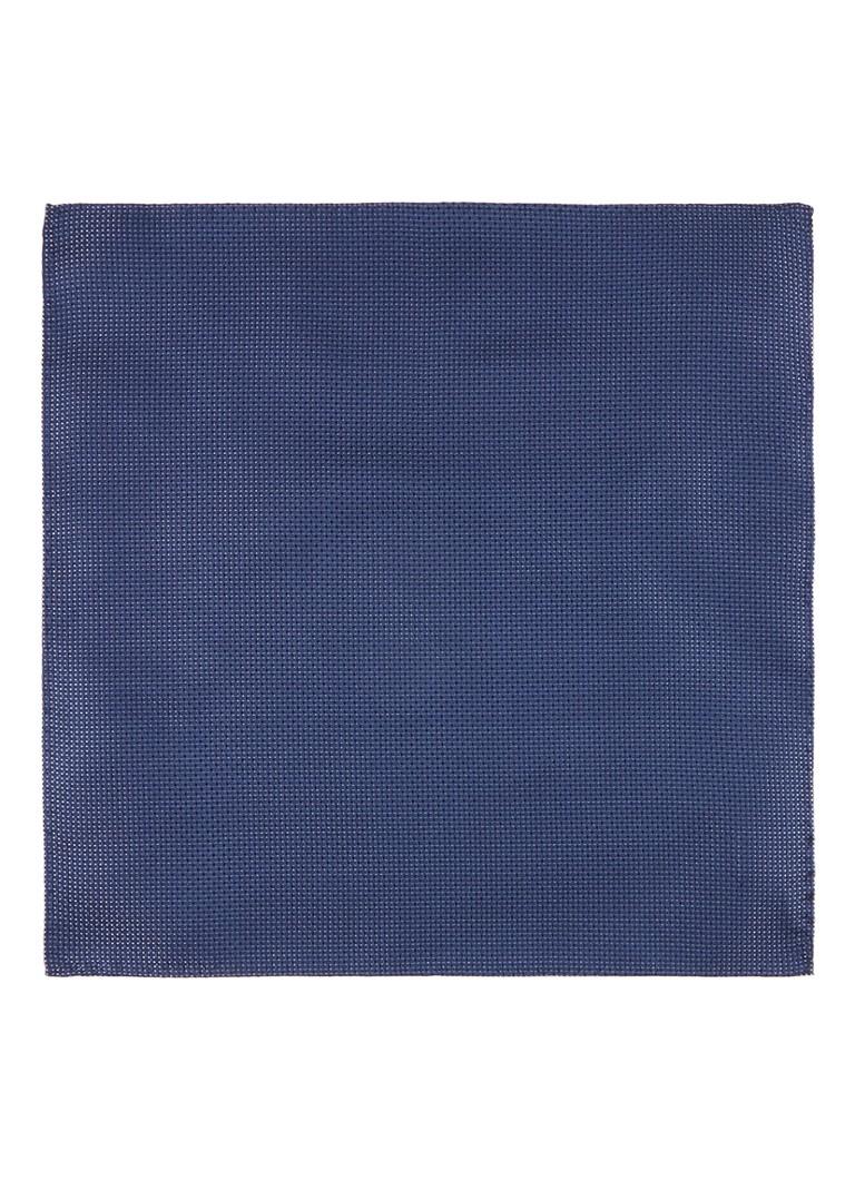 Image of HUGO BOSS Pochet van zijde met gemêleerd patroon