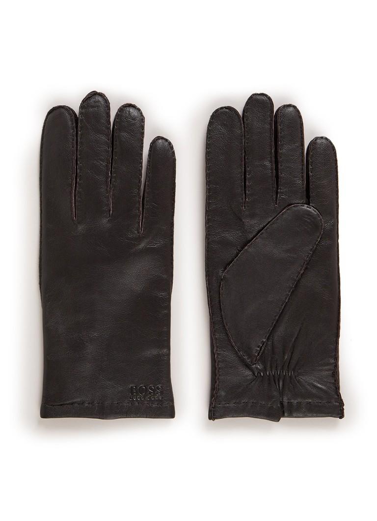 Image of HUGO BOSS Kranton handschoenen van lamsleer