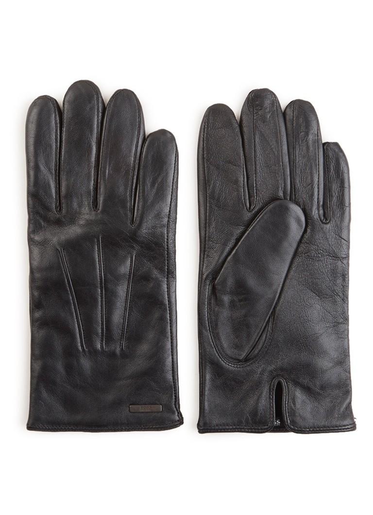 Image of HUGO BOSS Hainz handschoenen van lamsleer