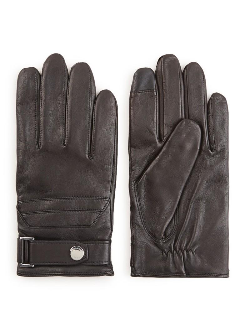 HUGO BOSS Hemon handschoenen van lamsleer