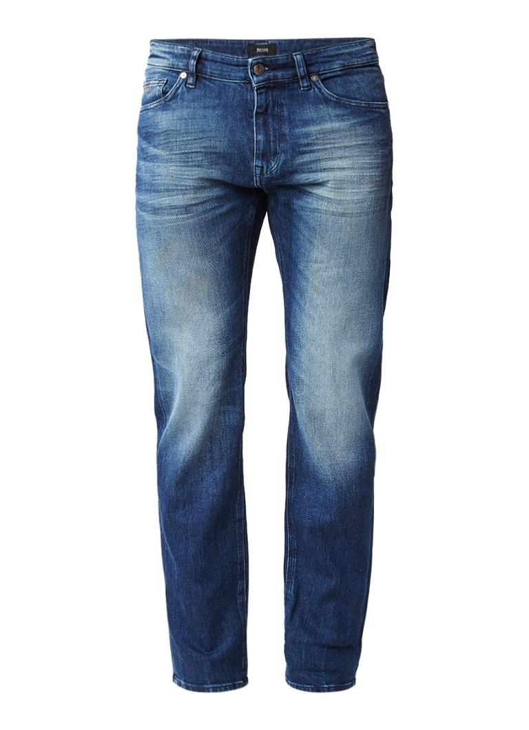 HUGO BOSS Maine faded regular fit jeans