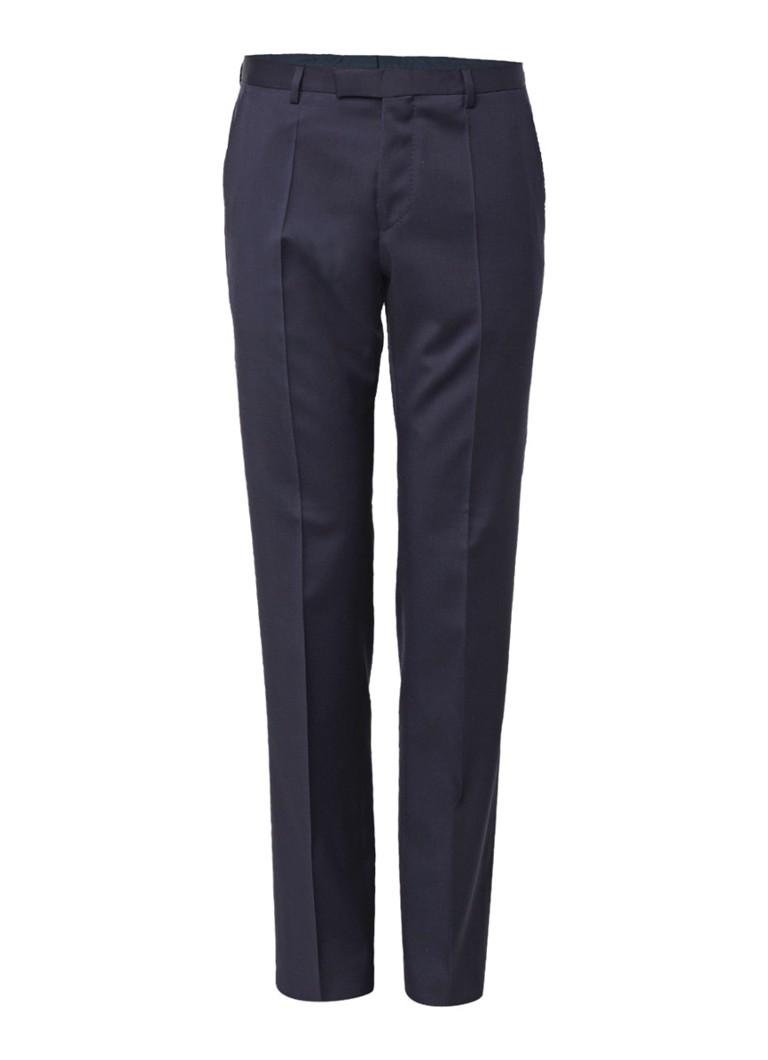 HUGO BOSS Lenon_cyl regular fit pantalon van scheerwol