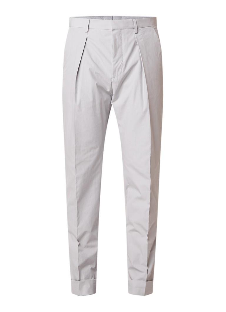 HUGO BOSS Ole cropped pantalon met omgeslagen zoom