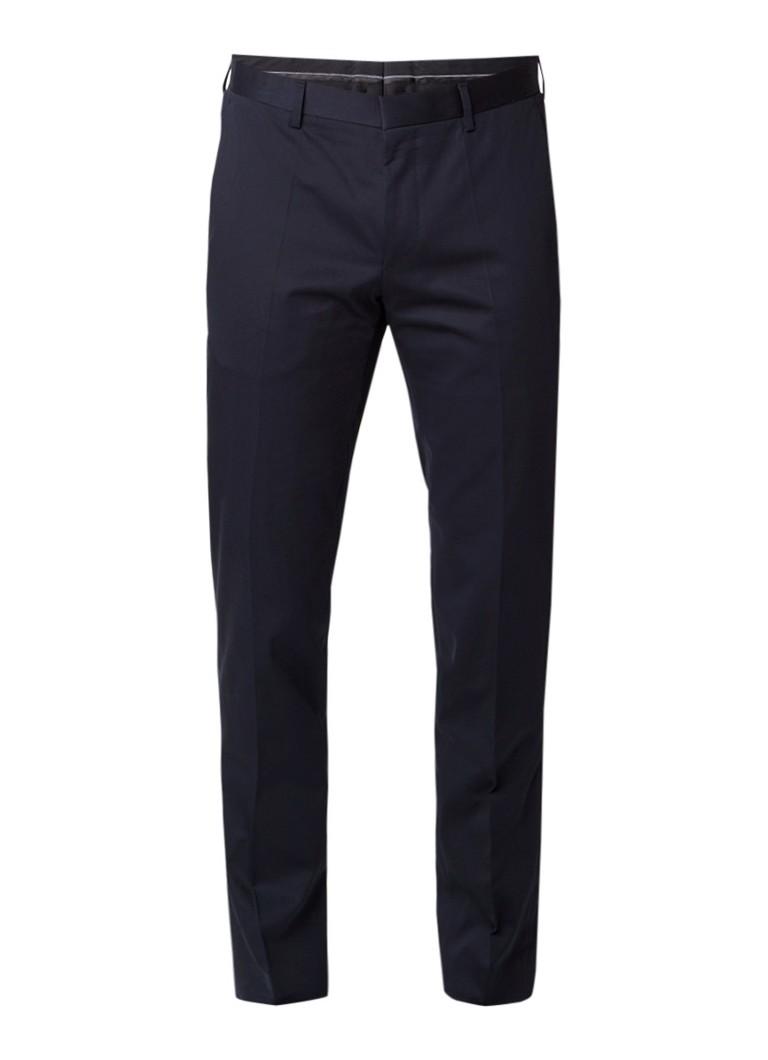 Image of HUGO BOSS Genesis slim fit pantalon met strijkplooi