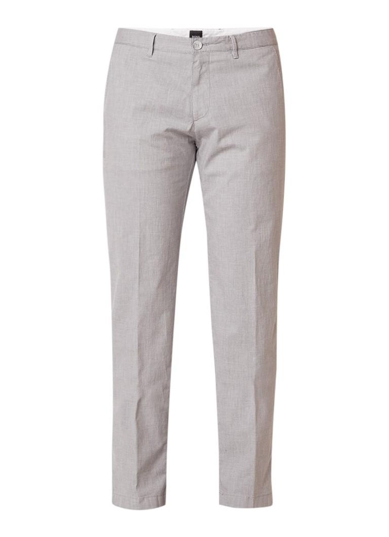 HUGO BOSS Crigan3 slim fit pantalon van katoen