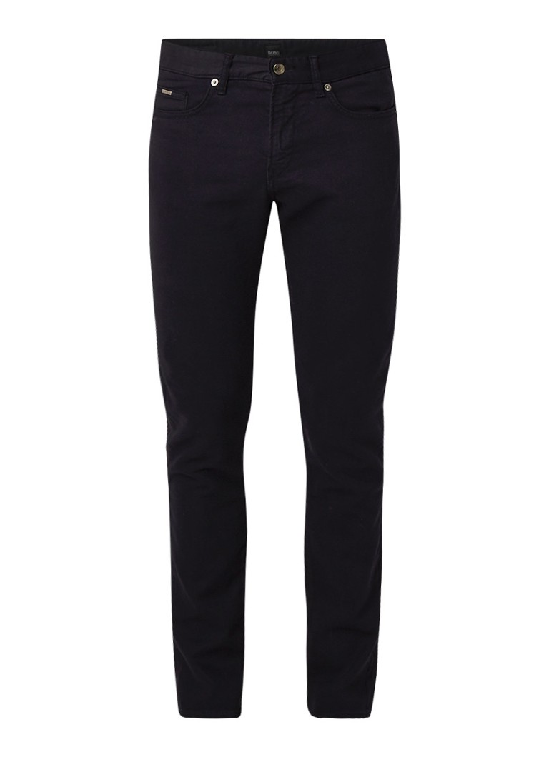 HUGO BOSS Delaware3-1-20 slim fit soft jeans met stretch