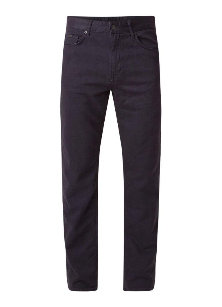 HUGO BOSS Albany relaxed fit jeans met stretch