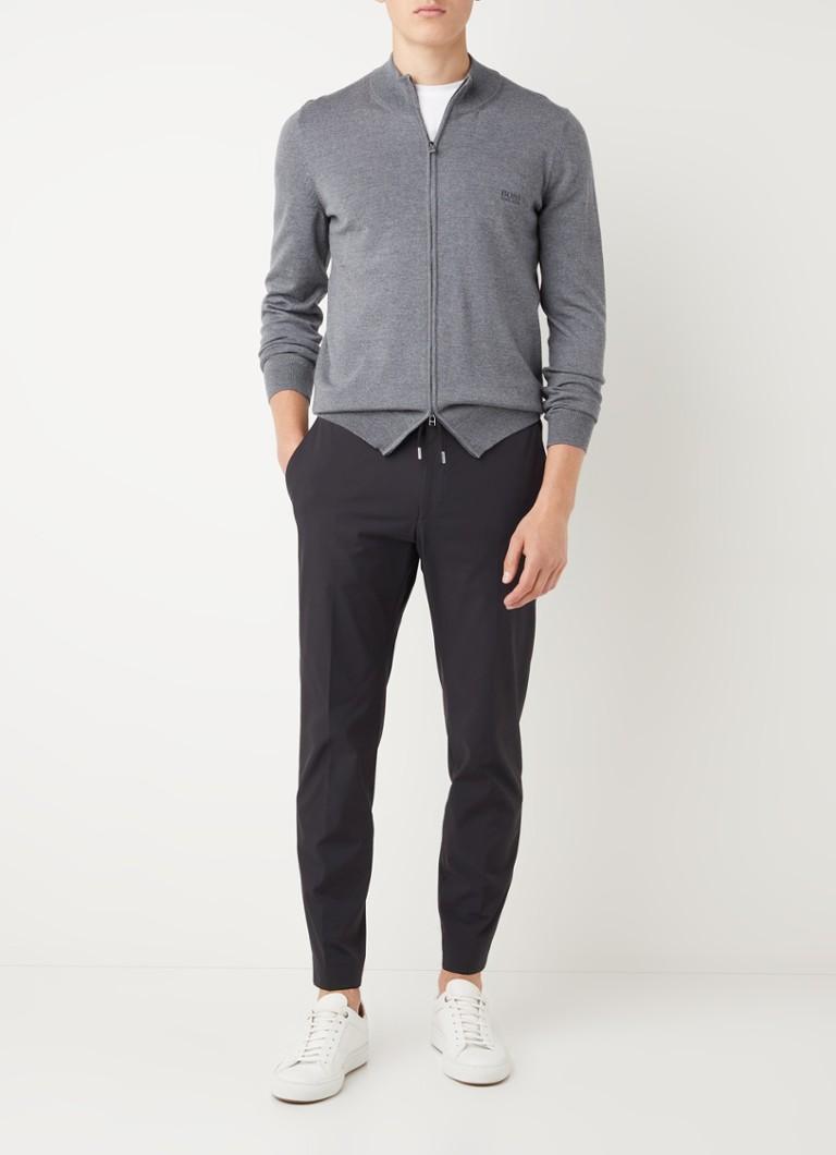 HUGO BOSS P-Genius slim fit pantalon met trekkoord