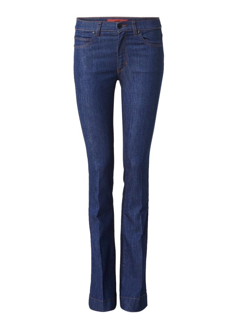 HUGO BOSS Ginas high rise kick flare jeans