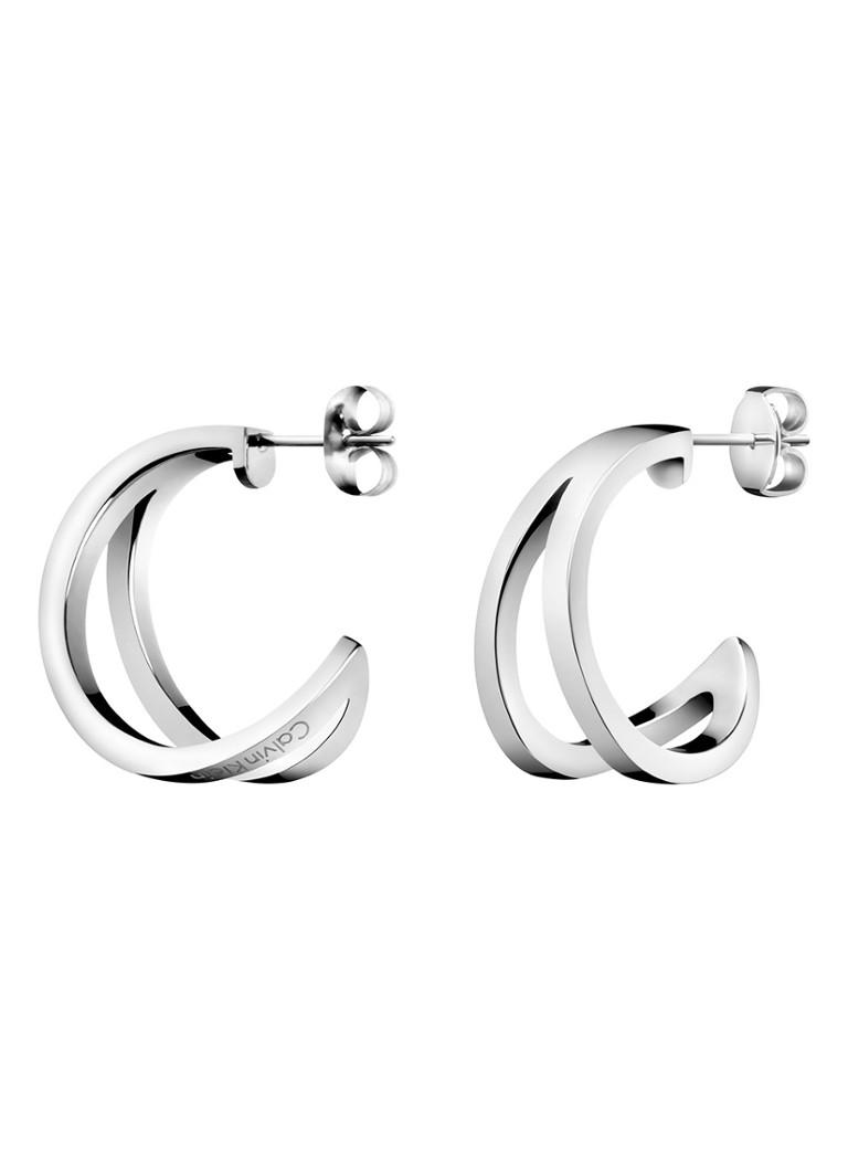 Image of Calvin Klein Calvin Klein Oorringen met logo