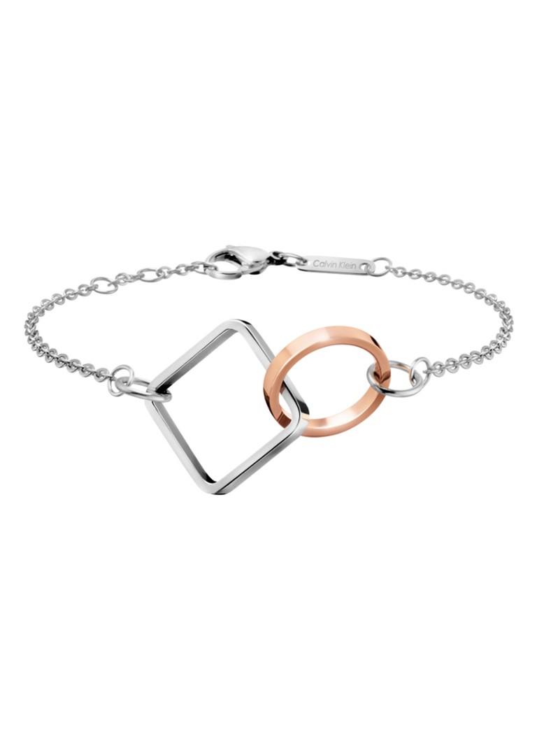 Calvin Klein Armband met geometrische bedels