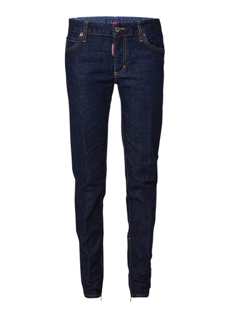 Dsquared2 Twiggy mid rise cropped slim fit jeans