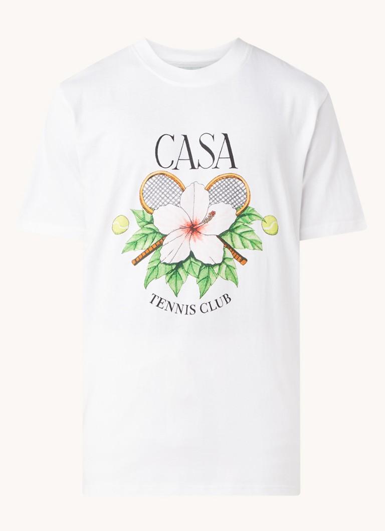 Casablanca T-shirt met logoprint