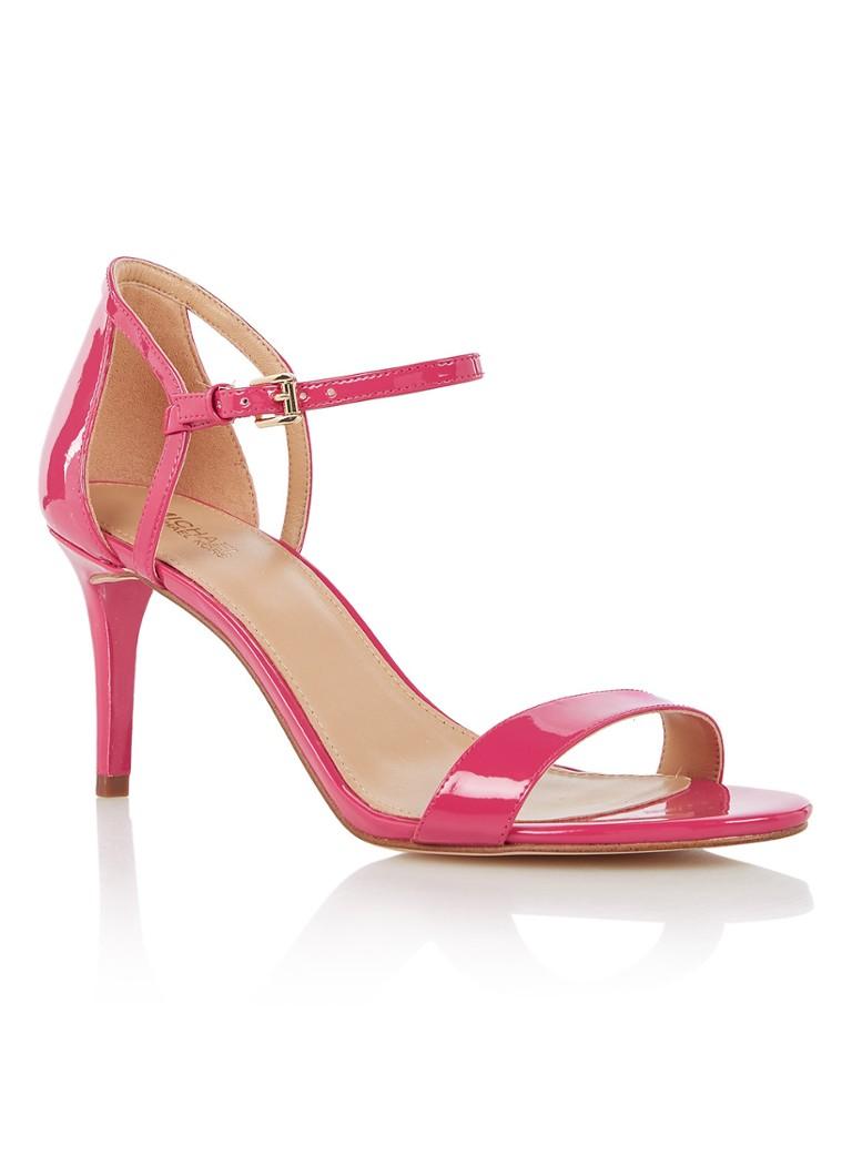Michael Kors Simone sandalette van lakleer