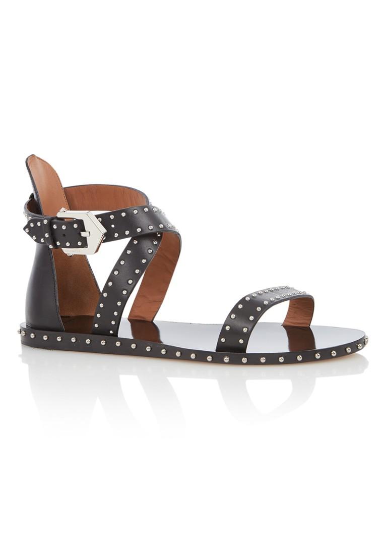 Givenchy Elegant sandaal van kalfsleer met studs