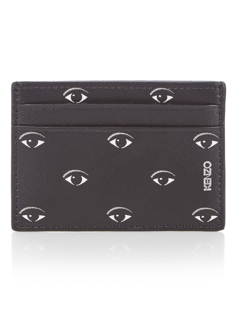 KENZO Multi Eye creditcardetui van leer