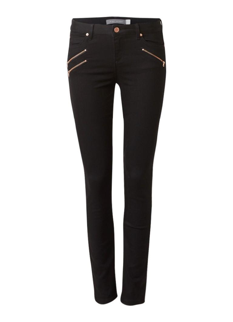 Mint Velvet Lakewood high rise skinny fit jeans met ritsen
