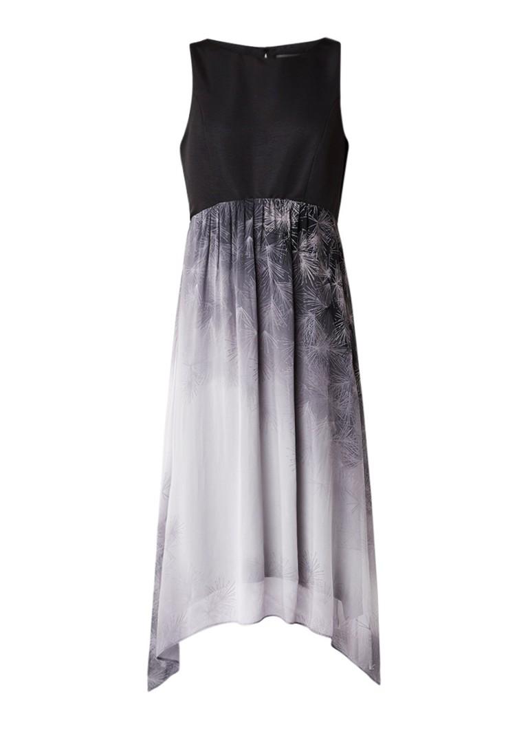 Mint Velvet Susanna midi-jurk met print grijs
