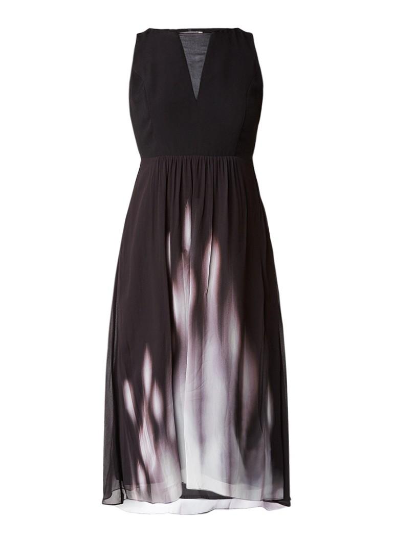 Mint Velvet Pyper jurk met ombré en rijgdetail multicolor