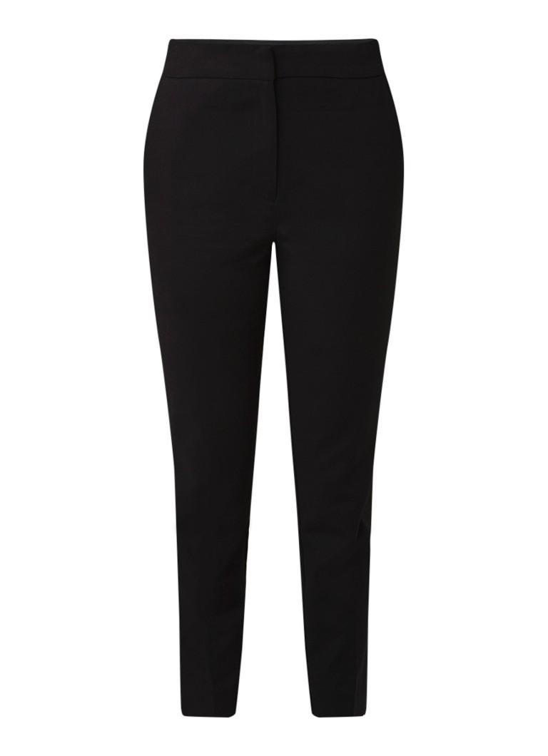 Warehouse High rise cropped slim fit pantalon met stretch
