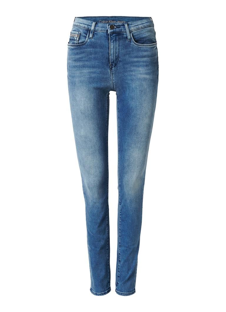 Calvin Klein High rise skinny jeans met power stretch