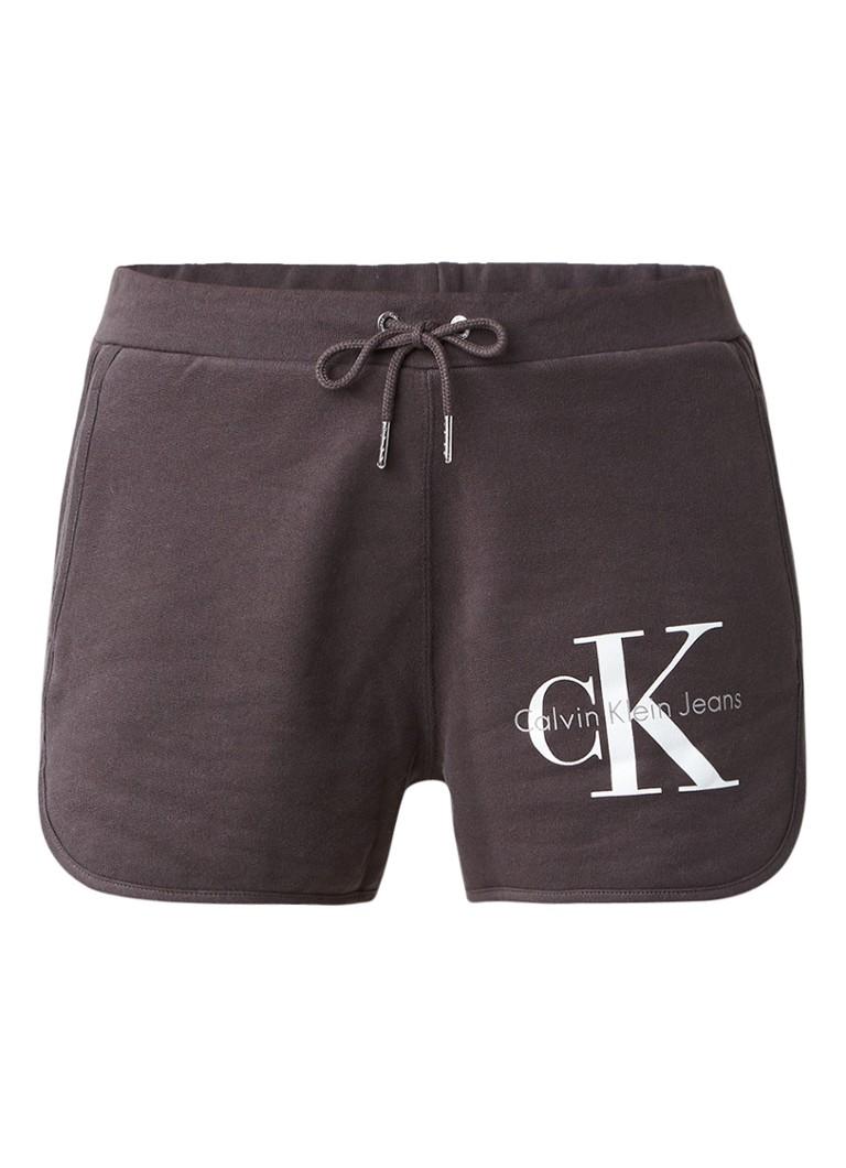 Calvin Klein True Icon sweatshorts met logoprint