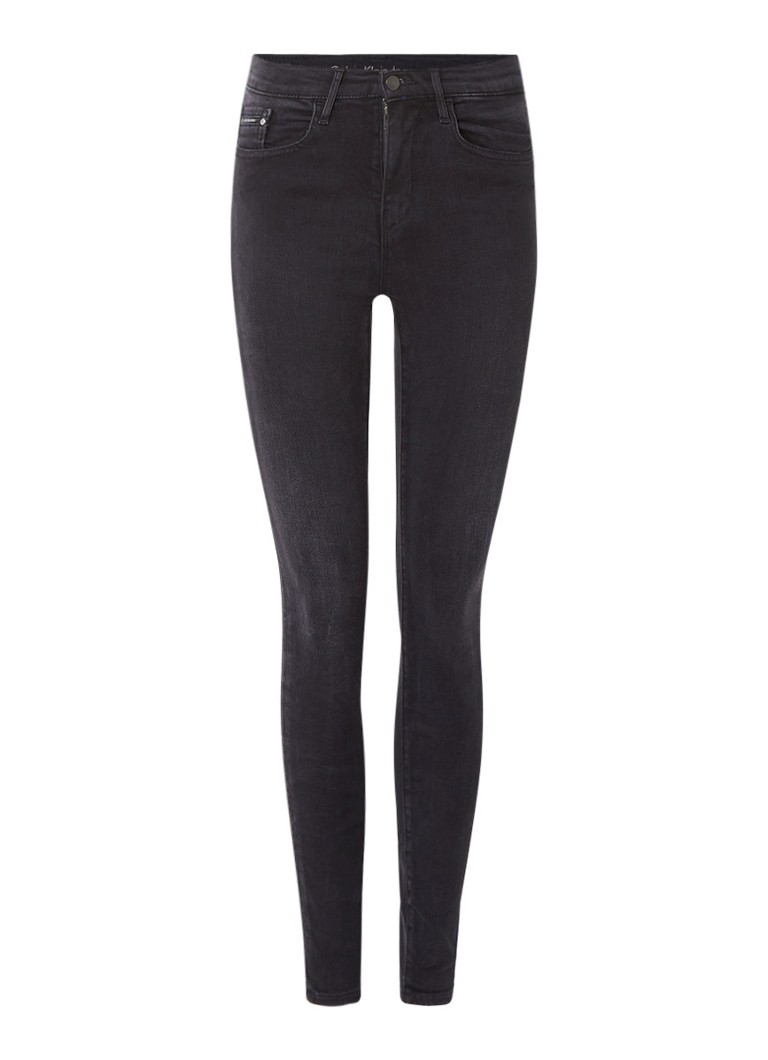 Calvin Klein High rise skinny jeans met stretch