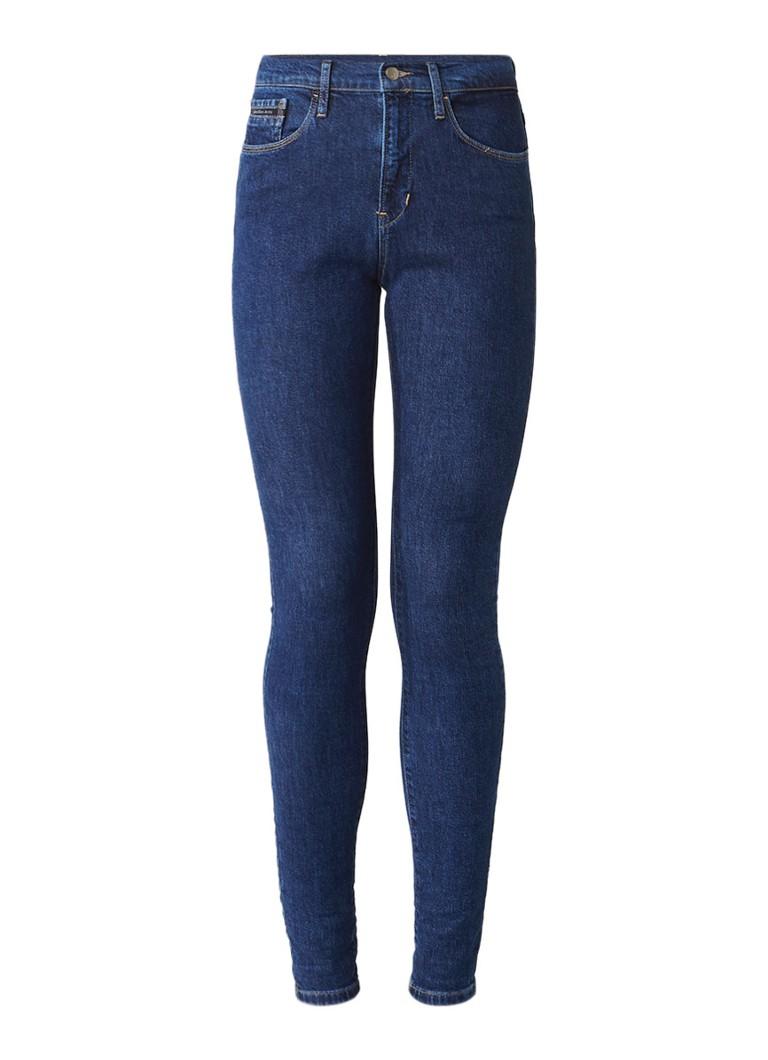 Calvin Klein High rise skinny jeans met donkere wassing