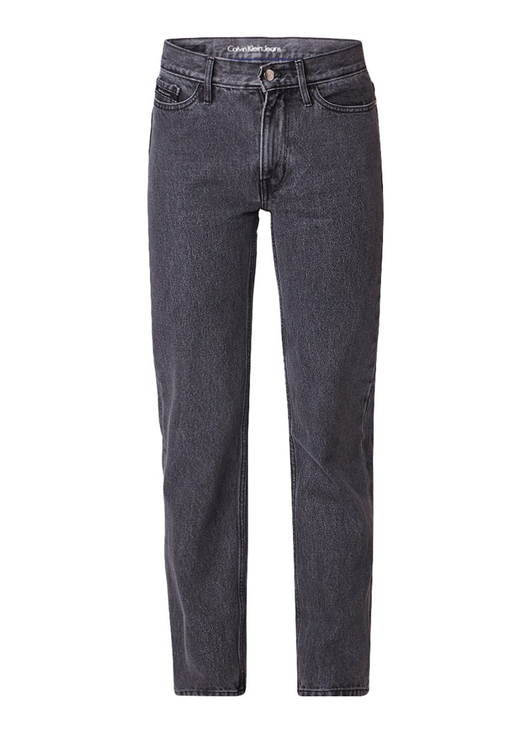 Calvin Klein High rise straight fit jeans