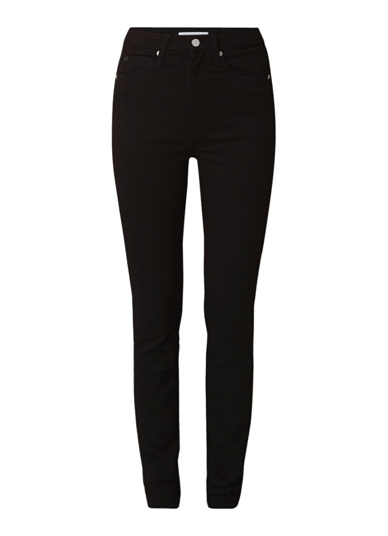 Calvin Klein 010 high rise skinny fit jeans met stretch