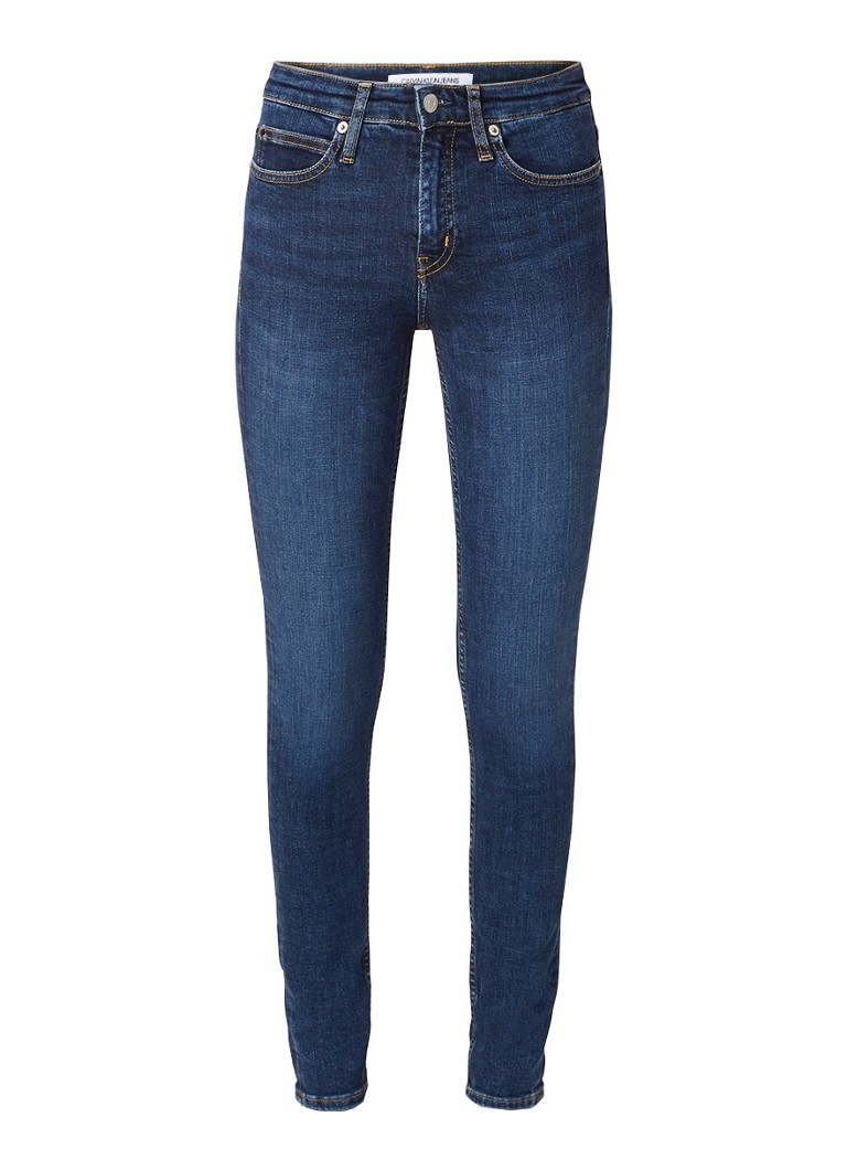 Calvin Klein Mid rise skinny fit jeans met stretch