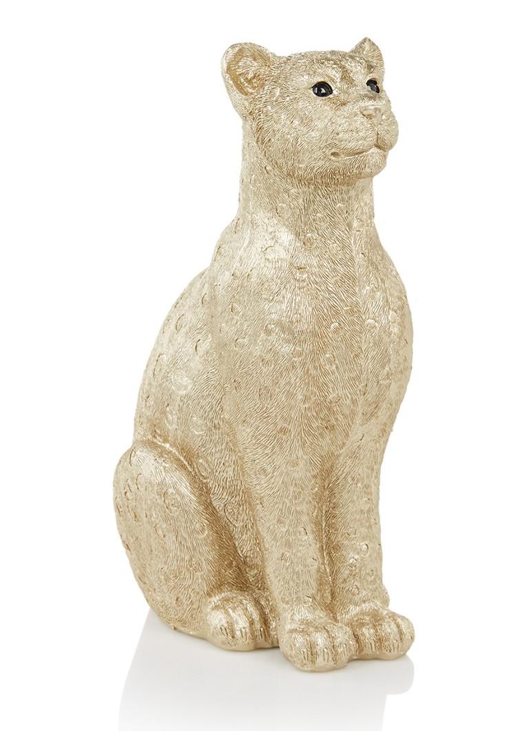 &Klevering Luipaard spaarpot 28,5 cm