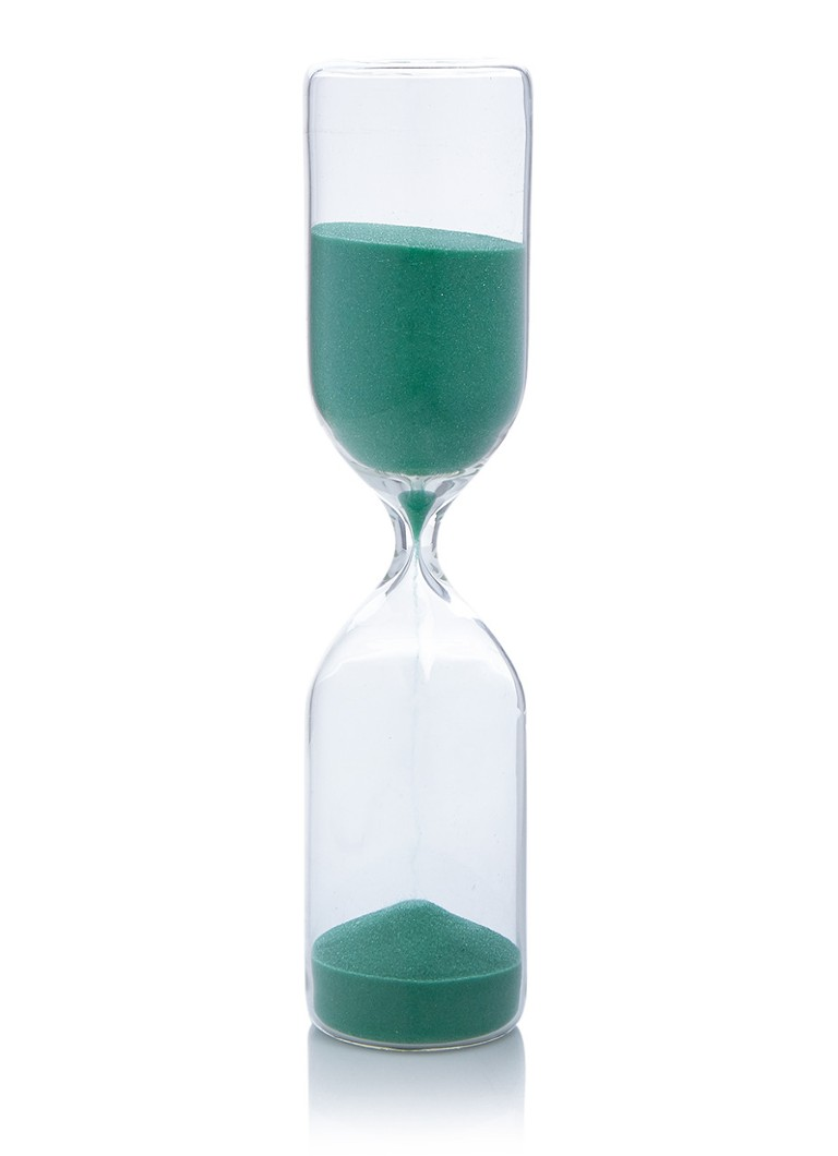 &Klevering Zandloper van glas 25 cm