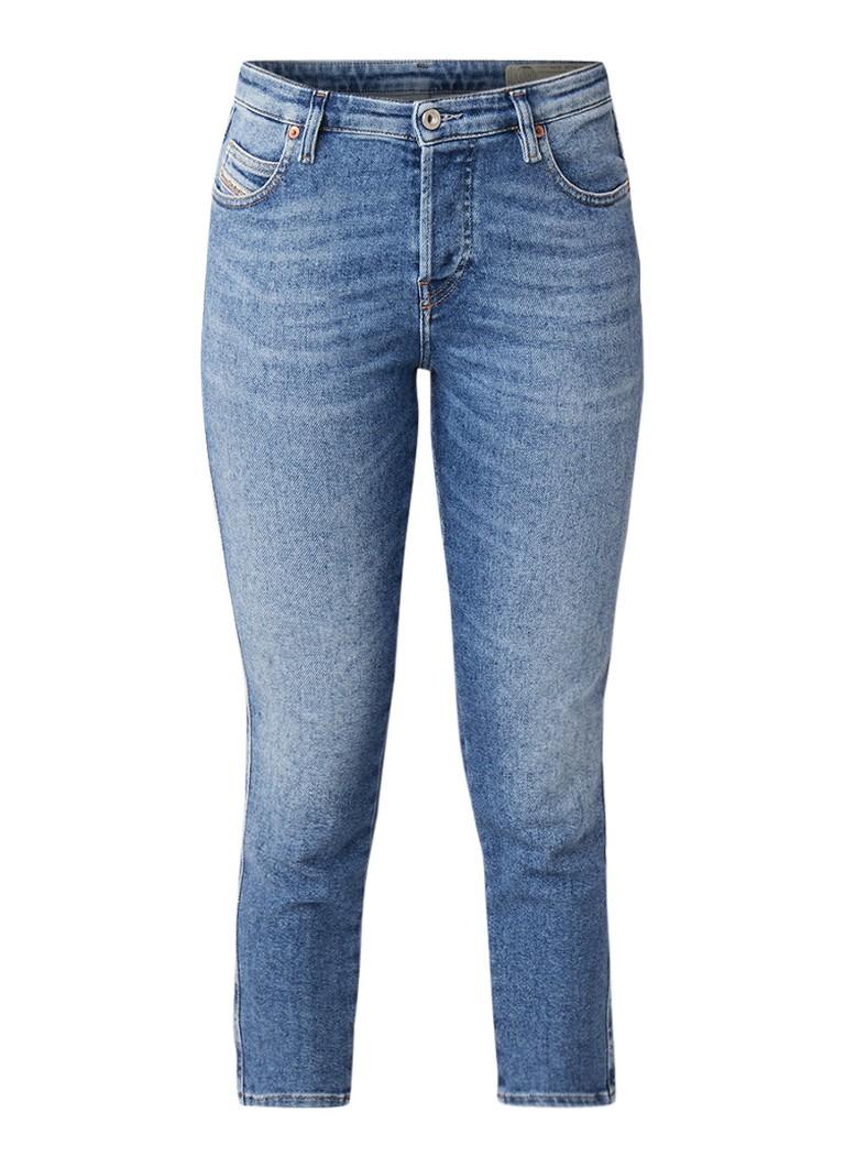 Diesel Babhila mid rise cropped slim-skinny fit jeans
