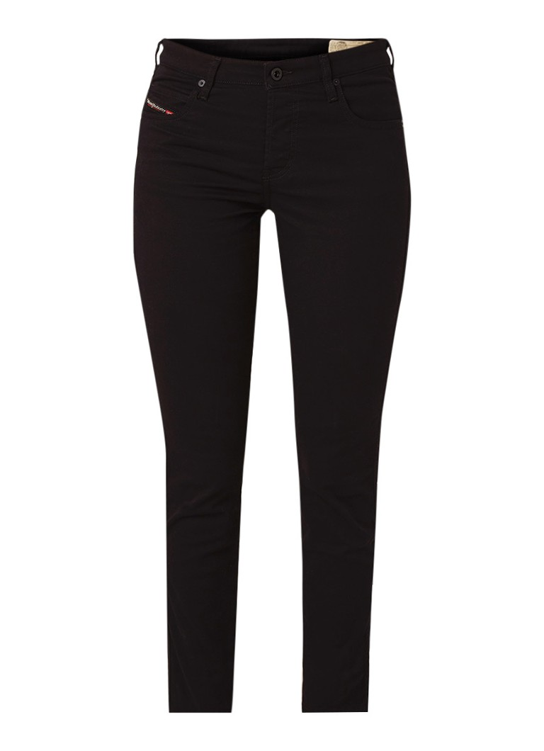 Diesel Babhila mid rise slim fit jeans met stretch