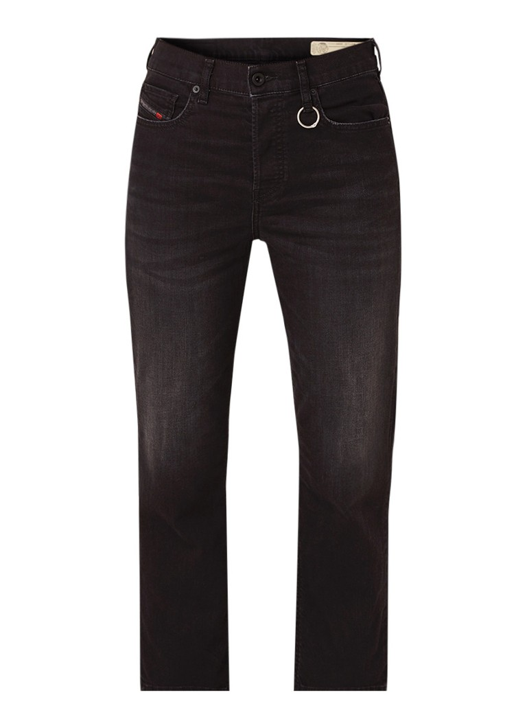 Diesel Aryel high rise cropped straight fit jeans
