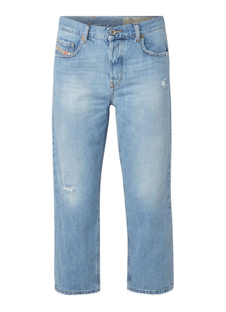 Diesel Aryel mid rise cropped Regular-Straight fit jeans