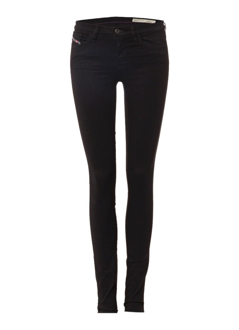 Diesel Skinzee mid rise skinny jeans met stretch 0813E