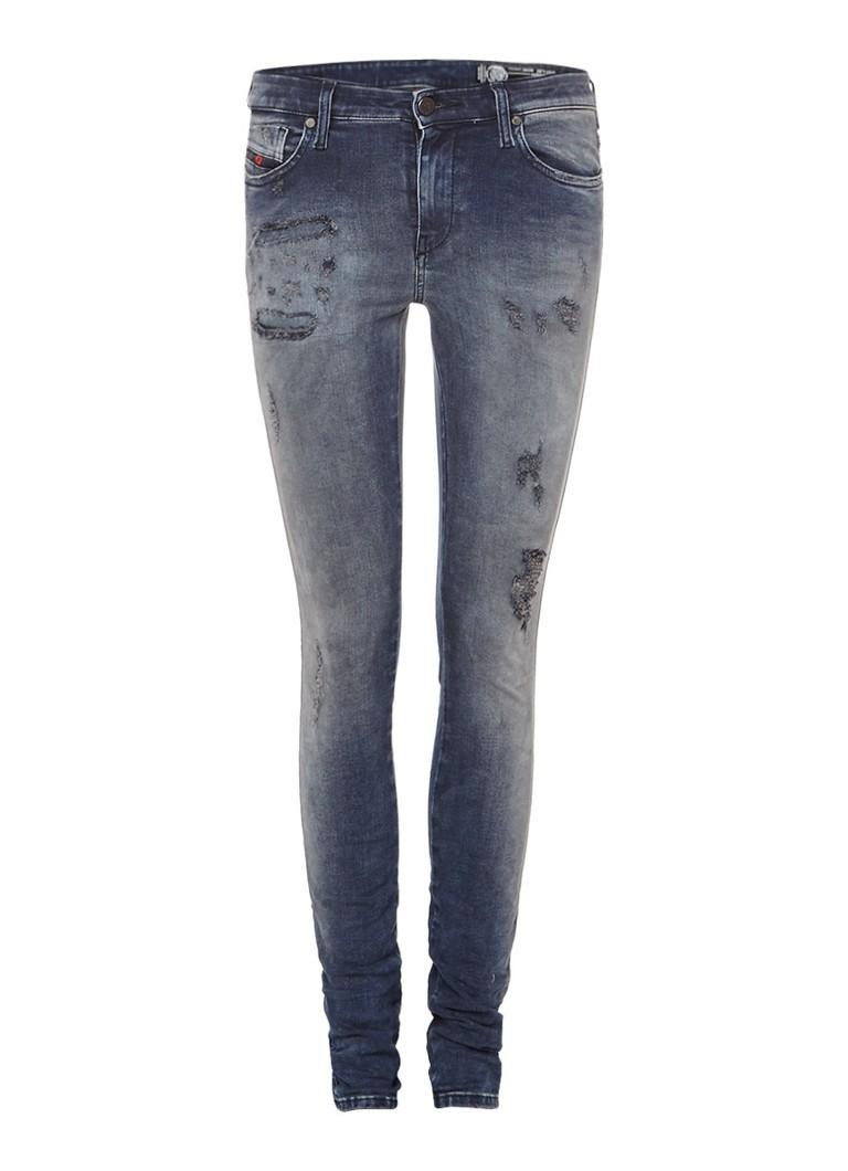 Diesel Skinzee mid rise super slim skinny jeans 0679X