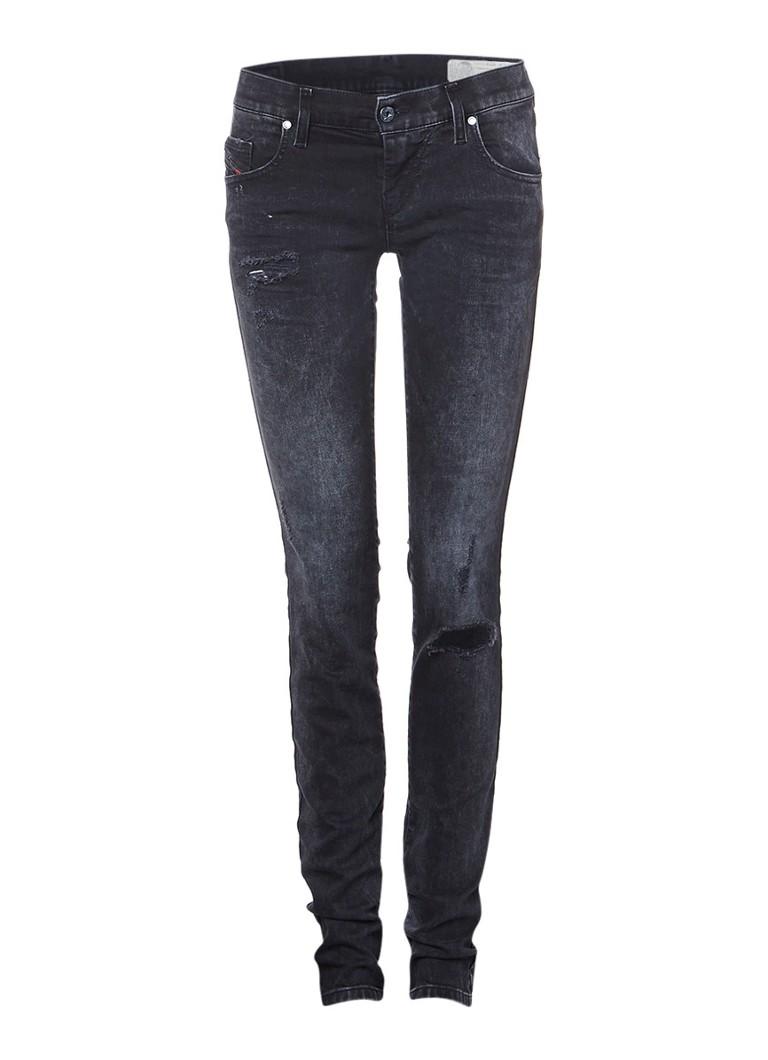 Diesel Grupee low rise super slim skinny jeans 0679B