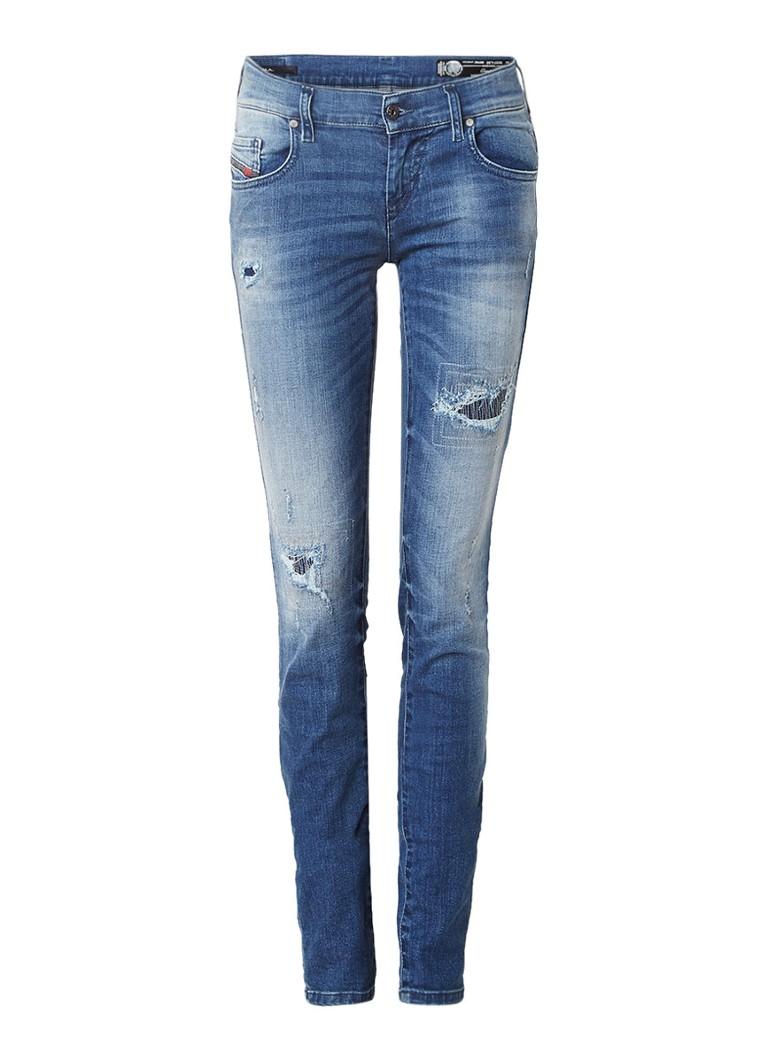 Diesel Grupee low rise super slim skinny jeans 0679C