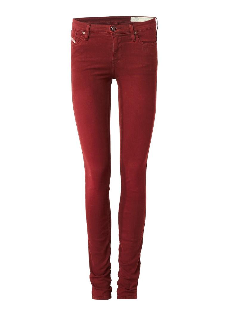 Diesel Skinzee low rise super slim skinny jeans 084BZ