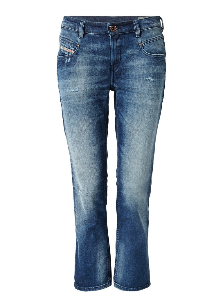 Diesel Belthy cropped slim-straight fit jeans 084DD