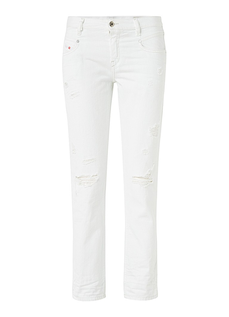 Diesel Belthy low rise slim fit jeans 0680K