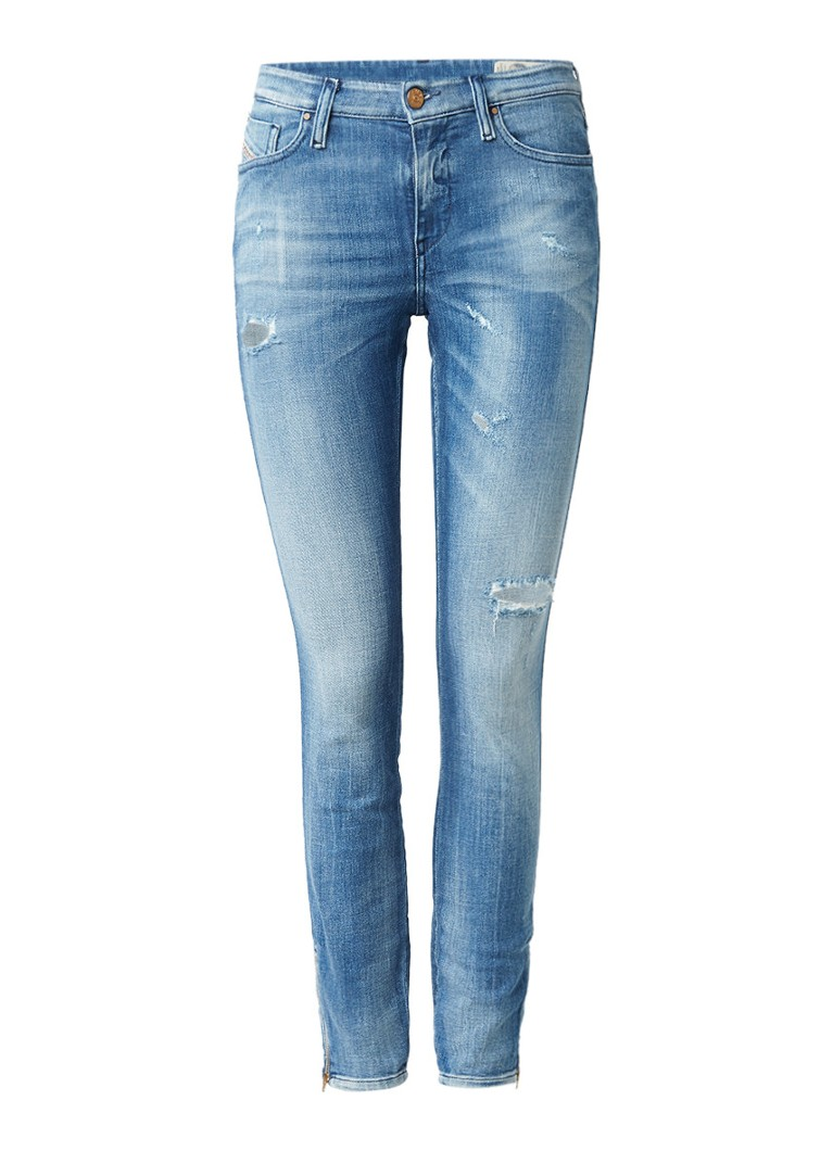 Diesel Skinzee mid rise super slim-skinny jeans 0681E