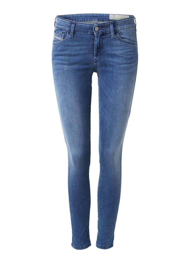 Diesel Slandy regular waist super slim-skinny jeans 0681P
