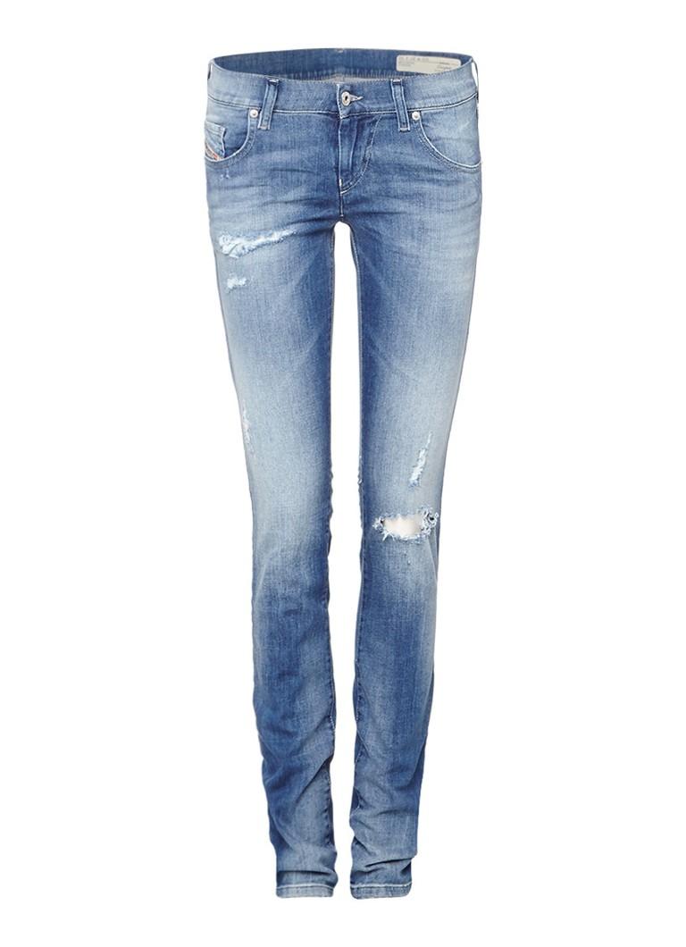 Diesel Grupee low rise super slim skinny jeans 0854D